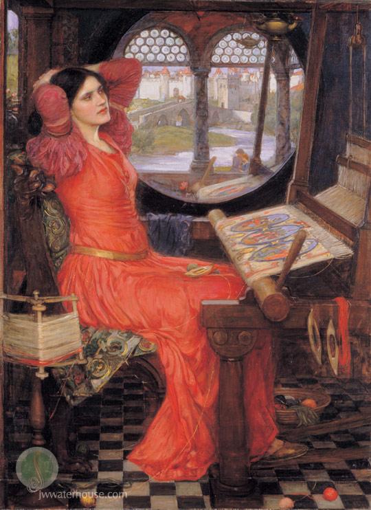 Waterhouse_i_am_half_sick_of_the_shadows